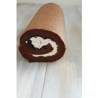 フォレノワール風のロールケーキ - cuisine18 晴れのち晴れ