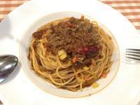 今日もランチはスパゲティ。でも後輩女子と♪ - よく飲むオバチャン☆本日のメニュー