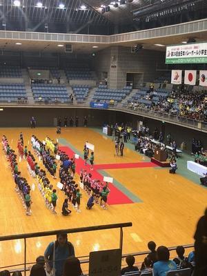 第3位 全日本バレーボール小学生大会決勝トーナメント - 横手バレーJr.  Fight & Smile