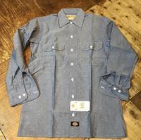 8月17日(土)入荷!90s〜MADE IN THE U.S.A デッドストックデッキーズDickies シャンブレーシャツ! - ショウザンビル mecca BLOG!!