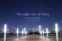 The night view of Tokyo - Lovepan