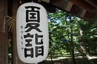 帯広神社夏詣(なつもうで) - 夢風 御朱印日記