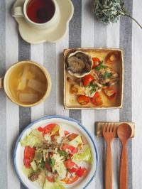 タコライス朝ごはん - 陶器通販・益子焼 雑貨手作り陶器のサイトショップ 木のねのブログ