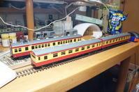 【鉄道模型・HO】70系新潟色・クハ75を作る・4 - kazuの日々のエキサイトな企み!