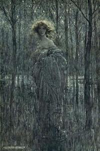 アーサー・ラッカム挿絵の「真夏の夜の夢」からヘレナ - Books