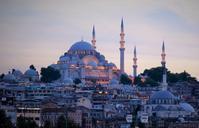 夕刻のスレイマニエジャーミィ - 写真でイスラーム