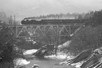 4月の雪の日- 1988年早春・秩父鉄道 - - ねこの撮った汽車