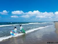 能登での海水浴 part2 - 金沢市 床屋/理容室「ヘアーカット ノハラ ブログ」 〜メンズカットはオシャレな当店で〜