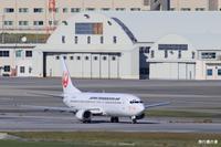 那覇空港らしいところでB737日本トランスオーシャン航空(NU) - 飛行機の虜