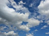 空と雲 - かぎしっぽと私、時々バイク…