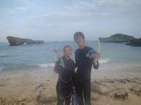 洞窟へ行けなくとも・・・~早朝青の洞窟シュノーケリング~ - 沖縄本島最南端・糸満の水中世界をご案内!「海の遊び処 なかゆくい」