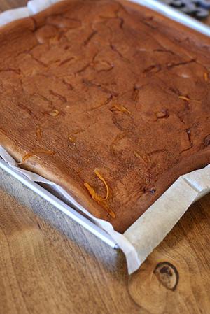 ショコラ&オレンジのロールケーキ -