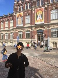 ヘルシンキに戻り - フィンランドでも筆無精