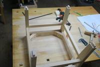 畳椅子の製作その3 - 木工家具製作所「玉造工房」ぶらぶら