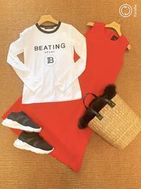 BEATINGHEARTのロゴT - パウダー日記