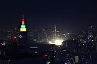 都庁の夜景 - お散歩写真     O-edo line