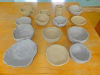 素焼き8月18日(日) - しんちゃんの七輪陶芸、12年の日常