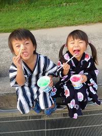 地元の夏祭り - eri-quilt日記3