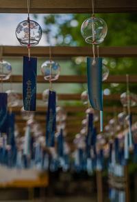水無瀬神宮の風鈴 - 鏡花水月