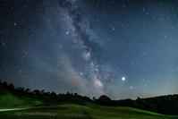 真夏の銀河 - デジタルで見ていた風景