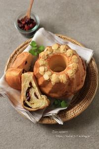 クランベリーとホワイトチョコのクグロフ - Bon appetit!