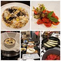 가지냉채(茄子の冷菜)&마두부찜(山芋と豆腐の蒸し物)☆お寺料理 - キューニーの食卓