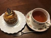リンゴのシブースト@ヴェールの丘 - よく飲むオバチャン☆本日のメニュー