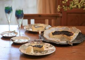バスクチーズケーキ と カラフルゼリーソーダ - my story***