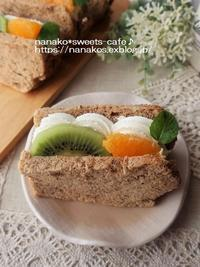 シフォンフルーツサンド - nanako*sweets-cafe♪