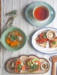 アボカドサンドの朝ごはん - 陶器通販・益子焼 雑貨手作り陶器のサイトショップ 木のねのブログ