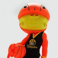 ロン・イングリッシュのバスケットボール・グリン、入荷 - 下呂温泉 留之助商店 店主のブログ