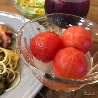 トマトのはちみつ漬け - Foretoile~フォレトワール~ アトリエと日々のこと