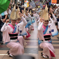 日本一長い商店街で阿波踊り! 大阪天水女踊り - ちょっとそこまで