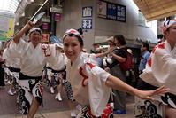 日本一長い商店街で阿波踊り! 大阪天水男踊り - ちょっとそこまで