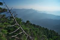 大峰山で出会った風景-2 - 自然と仲良くなれたらいいな2