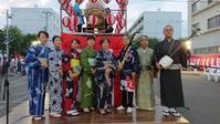 ライフコート様 盆踊り大会 - 『三味線研究会 夢絃座』 三味線って 楽しいかもぉ~!