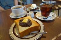 REINO COFFEEさんであんバタートースト - *のんびりLife*