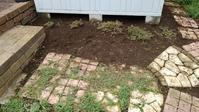 物置小屋周りの草取り - うちの庭の備忘録 green's garden
