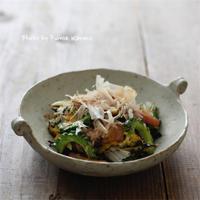 ゴーヤチャンプルー - ふみえ食堂  - a table to be full of happiness -