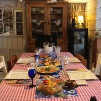 ある日の食卓 - 大好きなワインと素敵な食卓