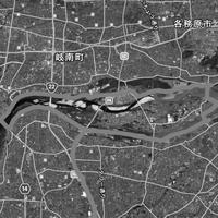 木曽川サイクリングロード - 曙光