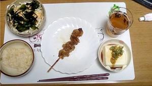 【ダイエット日誌 43】2019/8/20(火)・夕食「焼き鳥皮」など - 生きるべきか死ぬべきか。