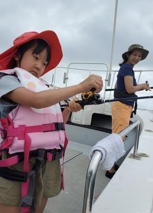 初石鯛、初ヒラマサget - 五島列島 遊漁船 MANA 釣果情報 ヒラマサ