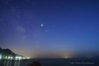 日本海を行くサソリ - デジタルで見ていた風景