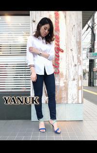 秋冬に活躍する【YANUK ヤヌーク】濃色あったかデニム!!入荷です。 - UNIQUE SECOND BLOG