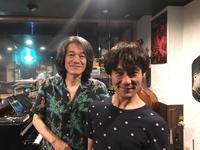 ライブ終了後〜蛇池くんと - Akio Fujita〈Sax&Flute Player〉藤田明夫オフィシャルブログ