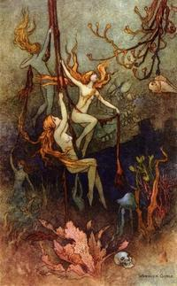Warwick Goble画の海の妖精 - Books