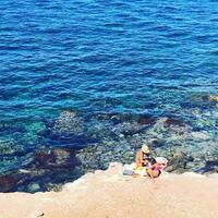 シチリアの秘境、マレッティモ島で海遊び♩ - 幸せなシチリアの食卓、時々旅