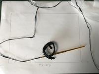 ラフィアの松葉編みでポーチを - 青山ぱせり日記