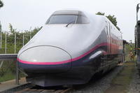 保存されるE2系。 - 新幹線の写真